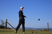 Dan Sheehan during Round Two of the West of England Championship 2016, at Royal North Devon Golf Club, Westward Ho!, Devon  23/04/2016. Picture: Golffile | David Lloyd<br /> <br /> All photos usage must carry mandatory copyright credit (&copy; Golffile | David Lloyd)