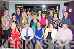 Marie Courtney Keel Castlemaine who celebrated her 40th birthday with her family and friends in the Silver Fox restaurant Killarney on Saturday night front row l-r: Catherine, Dan, Marie Courtney, Helen Courtney-Power, Mark Power. Back row: Oliver, Trish Reilly, PJ Walsh, Rena O'Sullivan, Jim Friel, Katie Breen, Elaine Coffey, Julie Walsh, Denis O'Sullivan, Catherine Coffey and Ivor Woods