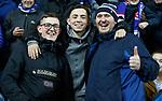 12.12.2019 Rangers v Young Boys Bern: Rangers fans