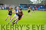 In Action Austin Stacks David O'Sullivan and O'Rahilly's Kevin Walshe  at the Senior County League Kerins O'Rahilly's V Austin Stacks  Co League Div 1 at Kerins O'Rahilly's Strand Rd on Saturday