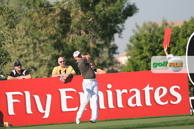 Jamie Donaldson (WAL) on the second day of the DUBAI WORLD CHAMPIONSHIP presented by DP World, Jumeirah Golf Estates, Dubai, United Arab Emirates.Picture Denise Cleary www.golffile.ie