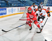 Sudbury, ON - April 25 2018 - Game 8 - Cantonniers de Magog vs Notre Dame Hounds the 2018 TELUS Cup at the Sudbury Community Arena in Sudbury, Ontario, Canada (Photo: Matthew Murnaghan/Hockey Canada)