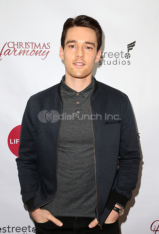 """LOS ANGELES, CA - NOVEMBER 7: Luke Beasley, at Premiere of Lifetime's """"Christmas Harmony"""" at Harmony Gold Theatre in Los Angeles, California on November 7, 2018. Credit: Faye Sadou/MediaPunch"""