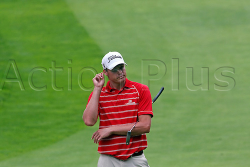30 July 2009: Nick Watney in round one of the Buick Open PGA Tour golf tournament, at Warwick Hills Golf & Country Club, in Grand Blanc, MI...(Photo: Tony Ding/ActionPlus) UK Licenses Only