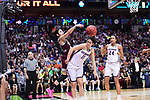 DALLAS, TX - MARCH 31:  Dominique Dillingham #00 of the Mississippi State Lady Bulldogs passes during the 2017 Women's Final Four at American Airlines Center on March 31, 2017 in Dallas, Texas. (Photo by Justin Tafoya/NCAA Photos via Getty Images)