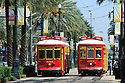 New Orleans streetcar