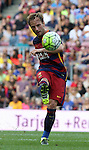 26.09.2015 Barcelona. La Liga day 6. Picture show RaKitic in action during game between FC Barcelona against Las Palmas at Camp Nou.