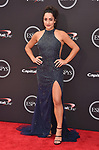 LOS ANGELES, CA - JULY 18: Jordyn Wieber attends the 2018 ESPYS at Microsoft Theater at L.A. Live on July 18, 2018 in Los Angeles, California.