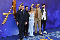 Guy Ritchie, Mena Massoud, Naomi Scott, Will Smith and Marwan Kenzari attend live-action remake of the hit Disney animated film Aladdin, at Odeon Luxe Leicester Square<br /> <br /> CAP/JOR<br /> &copy;JOR/Capital Pictures