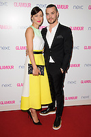 Matt and Emma Willis arrives for the Glamour Women of the Year Awards 2014 in Berkley Square, London. 03/06/2014 Picture by: Steve Vas / Featureflash
