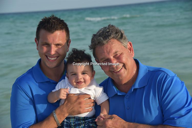 Three Generations at Beach