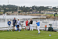 Sergio Garcia (ESP) watches his tee shot on 7 during round 2 of the 2019 US Open, Pebble Beach Golf Links, Monterrey, California, USA. 6/14/2019.<br /> Picture: Golffile | Ken Murray<br /> <br /> All photo usage must carry mandatory copyright credit (© Golffile | Ken Murray)