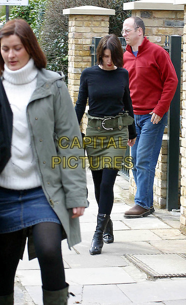 """SADIE FROST .leaving her London home to go to Elstree Film Studios where she begins work producing """"World Of Tomorrow"""" in which her husband Jude Law stars..www.capitalpictures.com.©Capital Pictures"""