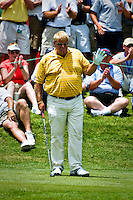 John Daly getting ready to tee off at the 2008 Stanford St. Jude golf tournament in Memphis, TN.