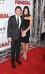 """HOLLYWOOD, CA. - April 12: James Marsden and Lisa Marsden arrive to the """"Death At A Funeral"""" Los Angeles Premiere at Pacific's Cinerama Dome on April 12, 2010 in Hollywood, California."""