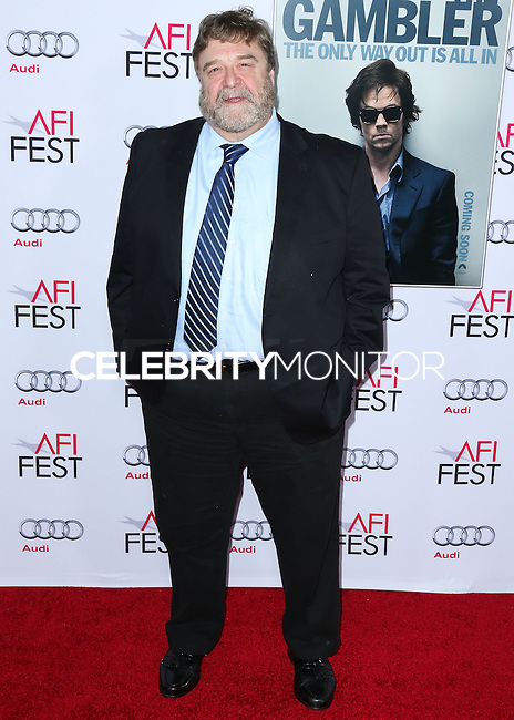 HOLLYWOOD, LOS ANGELES, CA, USA - NOVEMBER 10: John Goodman arrives at the AFI FEST 2014 - 'The Gambler' Gala Screening held at the Dolby Theatre on November 10, 2014 in Hollywood, Los Angeles, California, United States. (Photo by Xavier Collin/Celebrity Monitor)