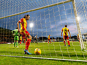 2nd December 2017, Firhill Stadium, Glasgow, Scotland; Scottish Premiership football, Partick Thistle versus Hibernian; Dejection for Ryan Edwards (Partick Thistle) after Adam Barton (Partick Thistle) own goal
