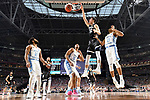GLENDALE, AZ - APRIL 03: Zach Collins #32 of the Gonzaga Bulldogs dunks during the 2017 NCAA Men's Final Four National Championship game against the North Carolina Tar Heels at University of Phoenix Stadium on April 3, 2017 in Glendale, Arizona.  (Photo by Chris Steppig/NCAA Photos via Getty Images)