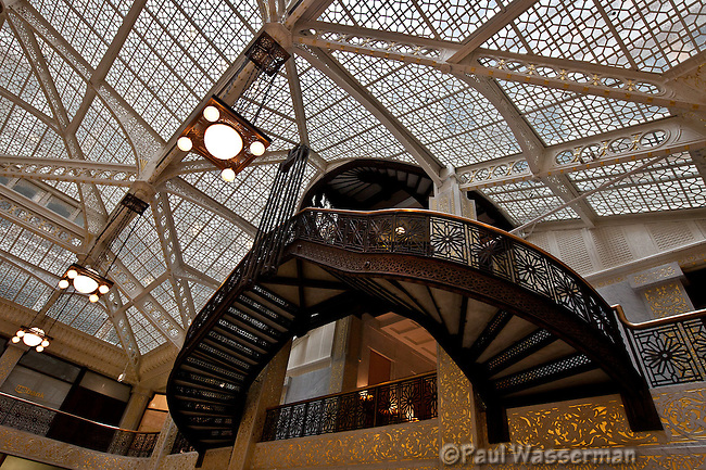 Inside Chicago's Rookery Building