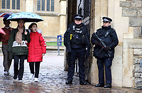 Increased anti terrorism security measures in Windsor, UK on Saturday February 3rd 2018<br /> CAP/ROS<br /> <br /> CAP/ROS<br /> &copy;ROS/Capital Pictures