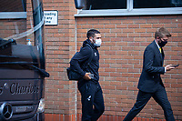 27th June 2020; Carrow Road, Norwich, England; FA Cup 6th round tie, Norwich City versus Manchester united; Teams arriving at the stadium pre-match;  Emi Buendía arriving at Carrow Road