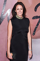 Caroline Rush at the Fashion Awards 2016 at the Royal Albert Hall, London. December 5, 2016<br /> Picture: Steve Vas/Featureflash/SilverHub 0208 004 5359/ 07711 972644 Editors@silverhubmedia.com