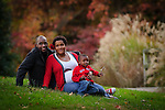 Portraits of James and Lanita Goins with their son Joshua at the Greensboro Arboretum on Monday, November 4, 2013.  Lanita and James are also expecting their second child in November. (Photo by Artisan Image)