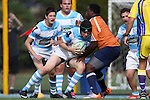 27 September 2014: North Carolina's Lucas Sietz. The University of North Carolina Tar Heels hosted the University of Virginia Cavaliers at Hooker Field in Chapel Hill, NC in a 2014-15 USA College Rugby match. North Carolina won the game 27-12.