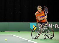 Februari 11, 2015, Netherlands, Rotterdam, Ahoy, ABN AMRO World Tennis Tournament, Nicolas Peifer (FRA)<br /> Photo: Tennisimages/Henk Koster