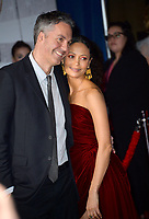 LOS ANGELES, CA. March 11, 2019: Ol Parker &amp; Thandie Newton at the world premiere of &quot;Dumbo&quot; at the El Capitan Theatre.<br /> Picture: Paul Smith/Featureflash