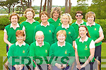 The Tralee team who competed in the AA foursomes in Killarney Golf Club on Sunday was front row l-r: Monica O'Neill, Nora Quinlan Lady captain, Ber Collins, Veronica Blennerhasset Lady president. Back row: Joan Kelly, Joan Costello, Jenna Leen, Lorraine Peevers, Kathleen Harty, Karen Gearon and Mary Coughlan  .