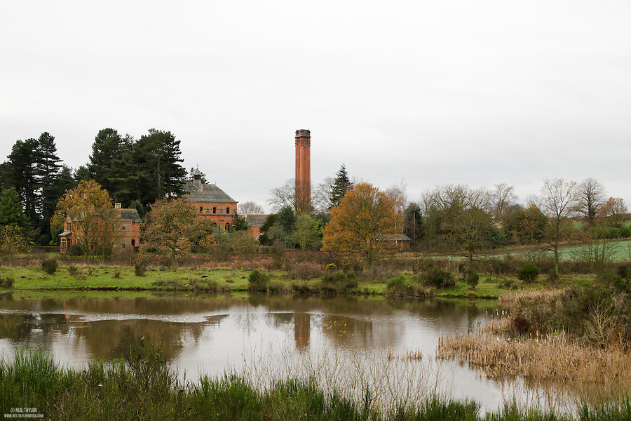A View of Papplewick Pumping Station From Sansom Wood