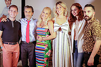 """Presentation of """"Alma de Ángel"""", a new comedy series by Televisa, tells the story of Ángel (Julio Bracho) who is devastated, after the sudden death of his wife Alma (Niurka Marcos) in Televisa San Ángel, Mexico City '(08/27/2019).<br /> Photo: Francisco Morales / DAMMPhoto / nortePhoto.com"""