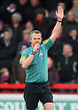 Referee Christopher Sarginson. Stevenage v Doncaster Rovers - npower League 1 -  Lamex Stadium, Stevenage - 12th January, 2013. © Kevin Coleman 2013.
