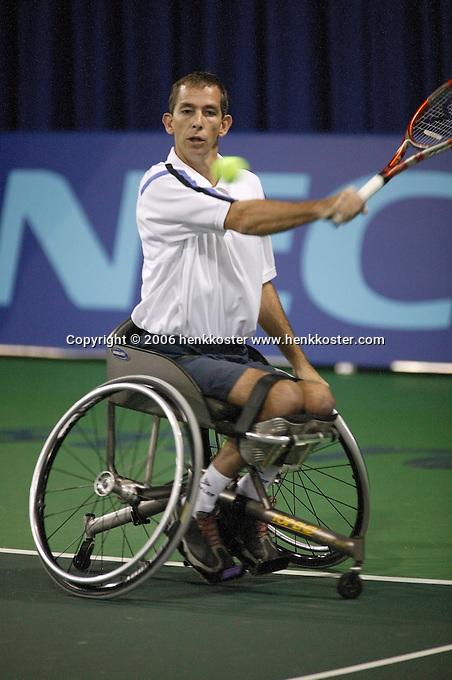 18-11-06,Amsterdam, Tennis, Wheelchair Masters, Robin Ammerlaan