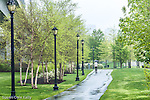 Bremen Street Park in the East Boston neighborhood, Boston, Massachusetts, USA