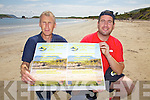 Ballinskelligs to host a 3 Beach Challenge on 8 miles of multi-terrain on the 27th July in aid of the Donal Walsh Foundation pictured here on Ballinskelligs beach were l-r; Brendan King & David Walsh.