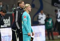 Xaver Schlager (VfL Wolfsburg) wird eingewechselt - 23.11.2019: Eintracht Frankfurt vs. VfL Wolfsburg, Commerzbank Arena, 12. Spieltag<br /> DISCLAIMER: DFL regulations prohibit any use of photographs as image sequences and/or quasi-video.