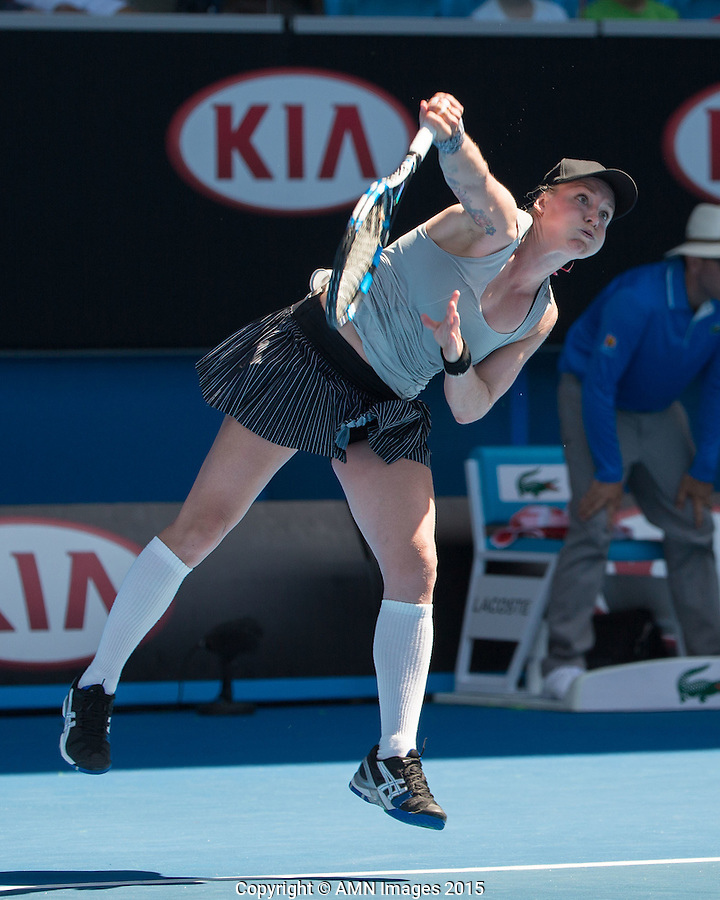 Bethanie Mattek-Sands (USA)<br /> <br /> Tennis - Australian Open 2015 - Grand Slam -  Melbourne Park - Melbourne - Victoria - Australia  - 23 January 2015. <br /> &copy; AMN IMAGES