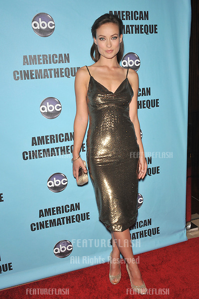 Olivia Wilde at the 24th Annual American Cinematheque Award Gala, where Matt Damon was honored, at the Beverly Hilton Hotel..March 27, 2010  Beverly Hills, CA.Picture: Paul Smith / Featureflash