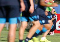Gonzalo Higuain <br /> ritiro precampionato Napoli Calcio a  Dimaro 27Luglio 2015<br /> <br /> Preseason summer training of Italy soccer team  SSC Napoli  in Dimaro Italy July 11, 2015