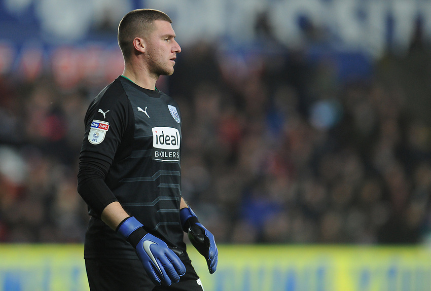 West Bromwich Albion's Sam Johnstone<br /> <br /> Photographer Kevin Barnes/CameraSport<br /> <br /> The EFL Sky Bet Championship - Swansea City v West Bromwich Albion - Wednesday 28th November 2018 - Liberty Stadium - Swansea<br /> <br /> World Copyright © 2018 CameraSport. All rights reserved. 43 Linden Ave. Countesthorpe. Leicester. England. LE8 5PG - Tel: +44 (0) 116 277 4147 - admin@camerasport.com - www.camerasport.com