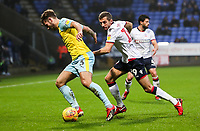 Bolton Wanderers' Gary O'Neil competing with Rotherham United's Joe Mattock<br /> <br /> Photographer Andrew Kearns/CameraSport<br /> <br /> The EFL Sky Bet Championship - Bolton Wanderers v Rotherham United - Wednesday 26th December 2018 - University of Bolton Stadium - Bolton<br /> <br /> World Copyright &copy; 2018 CameraSport. All rights reserved. 43 Linden Ave. Countesthorpe. Leicester. England. LE8 5PG - Tel: +44 (0) 116 277 4147 - admin@camerasport.com - www.camerasport.com