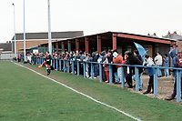 General view of Darlington Cleveland Social FC Football Ground, Neasham Road, Darlington, County Durham, pictured on 3rd April 1994