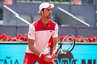 Serbian Novak Djokovic during Mutua Madrid Open 2018 at Caja Magica in Madrid, Spain. May 09, 2018. (ALTERPHOTOS/Borja B.Hojas) /NortePhoto.com