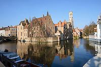 Rozenhoedkaai, Bruges, Belgium.