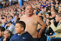 The infamous Tango man of Sheffield Wednesday during the Sky Bet Championship match between Sheffield Wednesday and Nottingham Forest at Hillsborough, Sheffield, England on 9 September 2017. Photo by Leila Coker / PRiME Media Images.