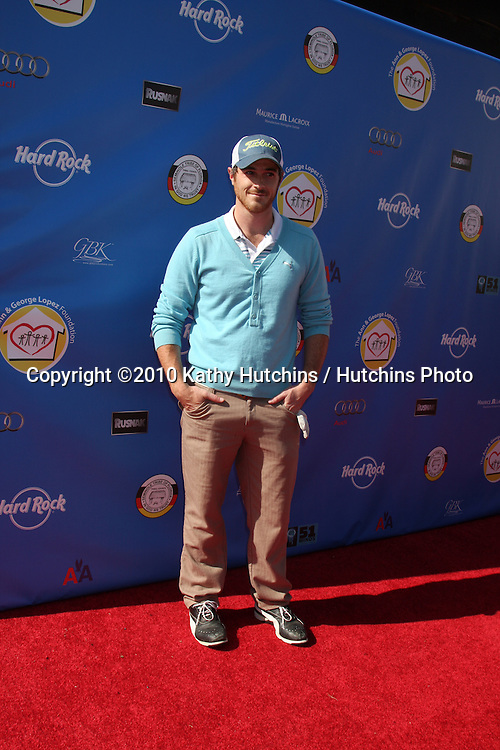 Dave Annable.arrives at  the George Lopez Golf Tournament .Lakeside Golf Club.Toluca Lake, CA.May 3, 2010.©2010 Kathy Hutchins / Hutchins Photo...