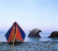Shipwreck at Dawn, Baja, Mexico