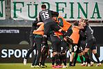 1:2 Ludwig Augustinsson (Werder Bremen #05) nach vorlage Fin Bartels (Werder Bremen #22) Jubel<br /> <br /> <br /> Sport: nphgm001: Fussball: 1. Bundesliga: Saison 19/20: Relegation 02; 1.FC Heidenheim vs SV Werder Bremen - 06.07.2020<br /> <br /> Foto: gumzmedia/nordphoto/POOL <br /> <br /> DFL regulations prohibit any use of photographs as image sequences and/or quasi-video.<br /> EDITORIAL USE ONLY<br /> National and international News-Agencies OUT.